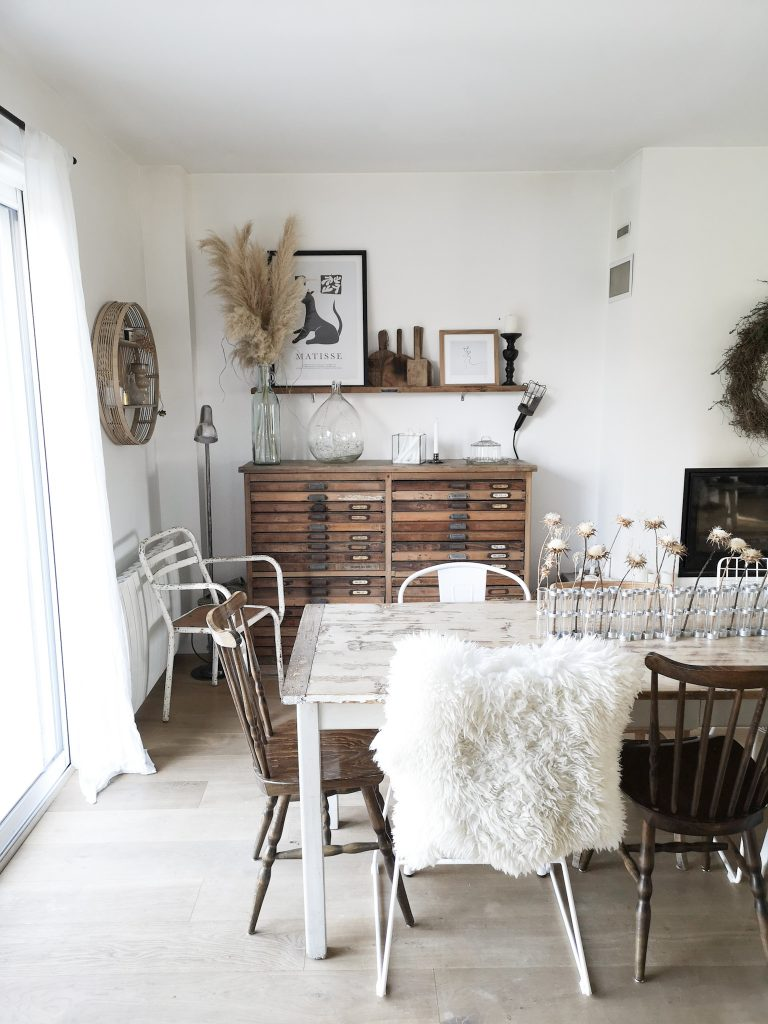 chiner meuble vintage